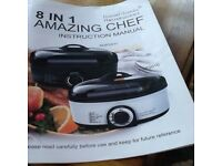 Daniel James Housewares 8 in 1 amazing chef