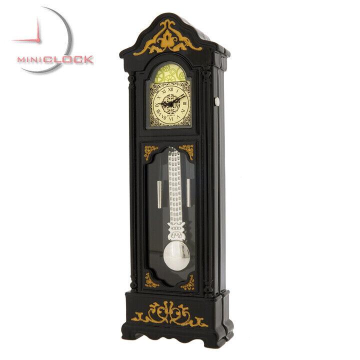 GRANDFATHER CLOCK MINIATURE FLOOR MINI COLLECTIBLE CLOCK