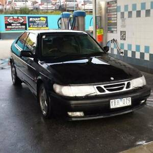 2000 Saab 9-3 Sedan (With RWC) Heidelberg West Banyule Area Preview