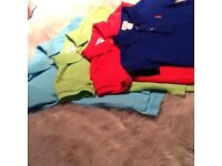 Four Ralph Lauren short sleeve Polo shirts