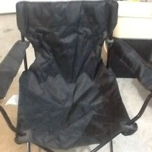 Two camping chairs new