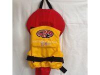 Yamaha life jacket used.
