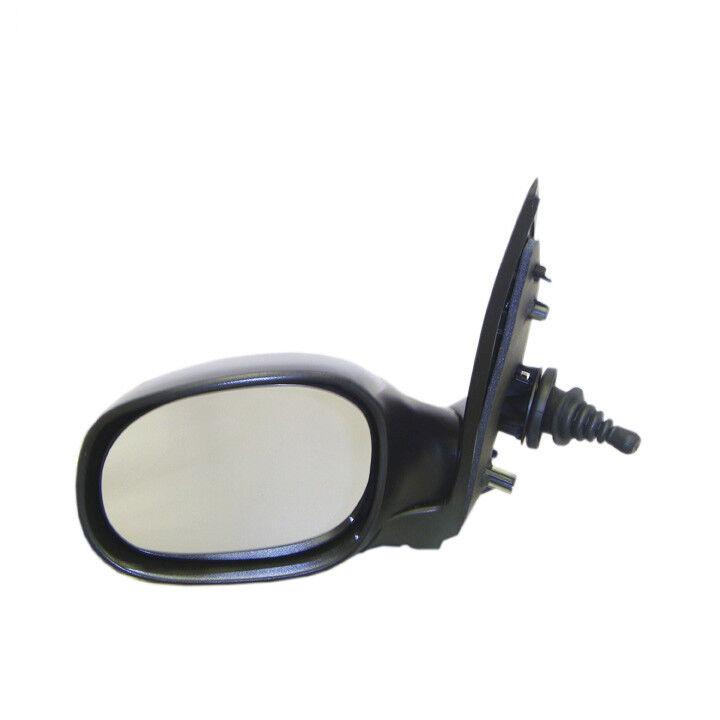 PEUGEOT-206 Including,,Black Wing Mirror Unit,RHS,1998-2012