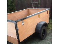 Trailor in very good condition for sale.