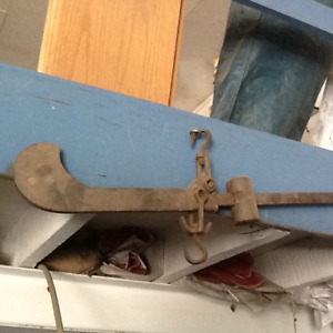 Antique Beam Scale (great for weighing bales)