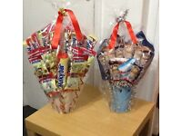 MILKY BAR & BUENO CHOCOLATE HAMPERS. £10 EACH.NO OFFERS.