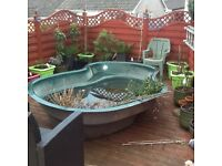 Atlantis large pond 2small repairs at top used 48hours cost £550.00 reasonable offers considered