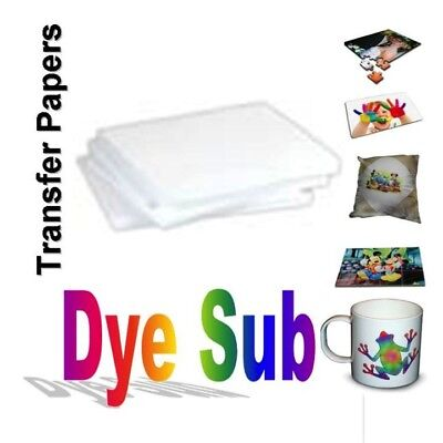 Dye Sublimation Transfer Paper For Virtuoso And Epson 200 Sheets 8.5x11 Per Pack