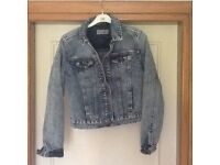 Denim Jacket size 8