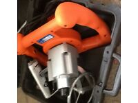 Vitrex Power Mix Plus Paddle Mixer 1600 Watt - 230 Volt never used !