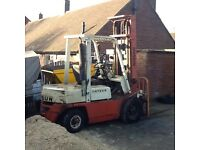 NISSAN-DATSUN DIESEL FORKLIFT TRUCK 1.8 TONNE with side shift
