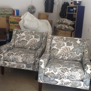 Two like new chairs for $500 OBO