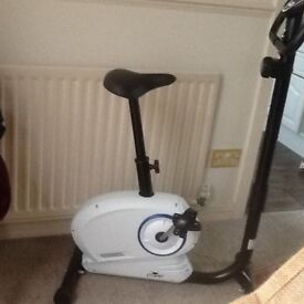 Exercise bike as new condition. Has all the instructions as has other benefits too