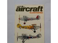 AIRCRAFT ILLUSTRATED, 5 MAGAZINES - JUNE 1969, APRIL 1972, FEBRUARY 1973, MAY 1973, JUNE 1973