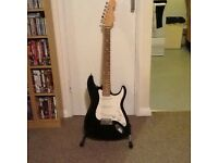 Black Fender Stratocaster Copy