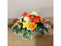 Silk Floral Arrangement/Mothers Day Gift/Wedding Decoration.