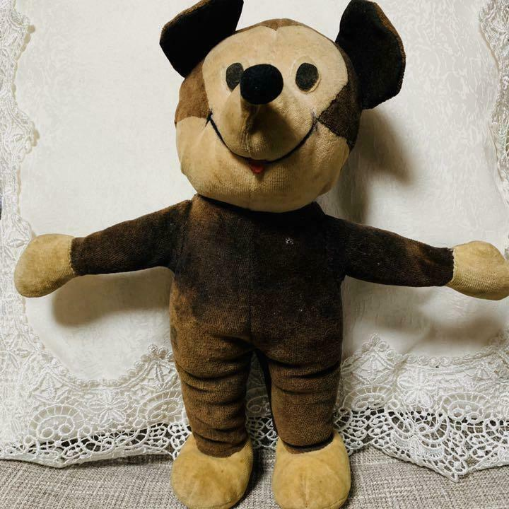 Mickey Mouse antique doll