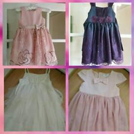 x4 beautiful girls party dresses