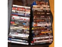Great selection of DVD's & 3 blu-rays