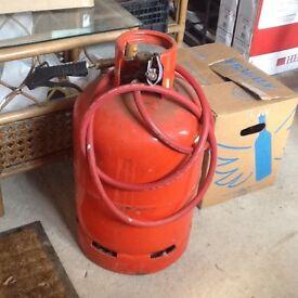 Mobile compressed air unit.