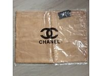 Brand new Gold CC scarf with tags.