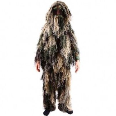 CLEARANCE! KIDS ARMY GHILLIE SUIT CAMO BOYS SNIPER DRESS UP COSTUME CAMO KAS (Boys Suits Clearance)