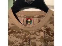 Military uniform Desert cammo
