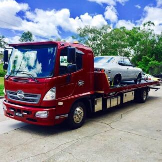 Springwood tilt tray tow truck towing Springwood Logan Area Preview