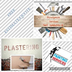 Handyman, Painting, Plastering, & more..... Marsden Logan Area Preview