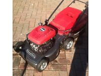 Mountfield SP470 self propelled petrol mower c/w grass bag