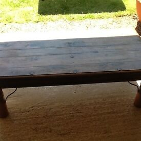 COFFEE TABLE --- Wooden