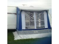 Trio Sport caravan porch awning 3m x 3m in good condition