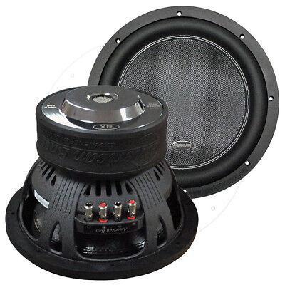 "American Bass XR12D4 12"" Woofer 2400W Max 200Oz Magnet"