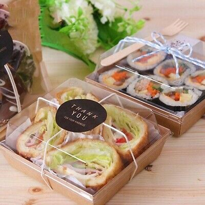 Sandwich Container Takeout Food Box 25pk