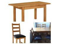 Canterbury table and chairs