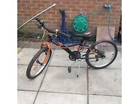 Boys B-twin bike