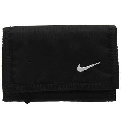 Nike Basic Geldbeutel Geldbörse Portemonnaie Wallet schwarz Herren Damen Kinder