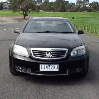 2008 Holden Statesman v6 Luxary Duel Fuel with rego and R.W.C