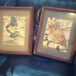 PAPERTOLE PICTURES.OWL/ BLUEJAYS 3D NEW PRICE Kitchener / Waterloo Kitchener Area image 1