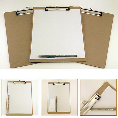 12pk Letter Size Clipboard 9 X 12.5 Desk Office Supplies Organizer Document