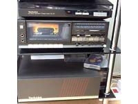 Technics vintage mini hifi stereo system
