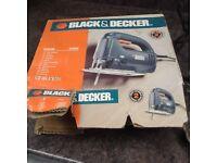 Black and Decker Electric Jig Saw Cutter