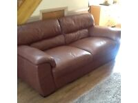 Large settee and armchair
