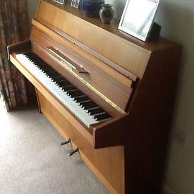 Piano - upright Zimmerman piano circa 1976
