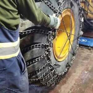 Heavy Equipment Tire Chains