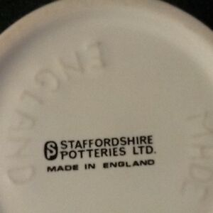 Staffordshire potteries coffee mug London Ontario image 4