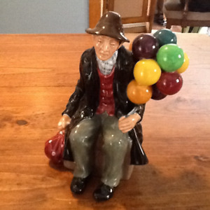 Royal Doulton Balloon Man Figurine Vintage England