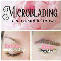 HD Brow Feathering Tattooing, Microblading $275