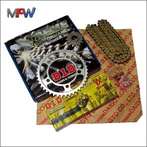 DID Upgraded Chain & Sprocket Kit Yamaha FZS600 S Fazer 97-03