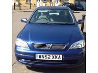 My Vauxhall Astra 1.6 5dr only 43k full Vauxhall history long mot